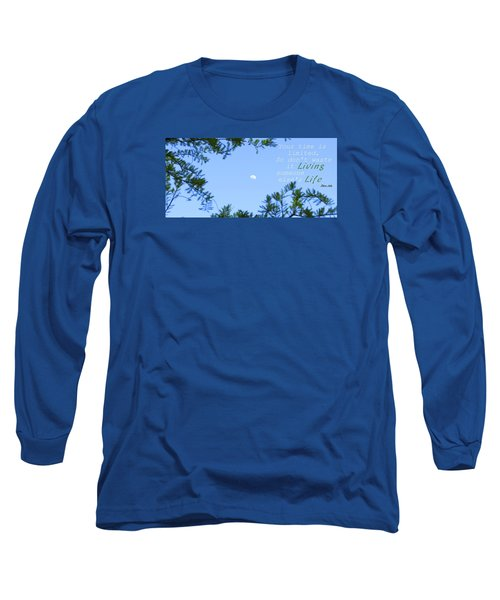 Long Sleeve T-Shirt featuring the photograph Maximize by David Norman