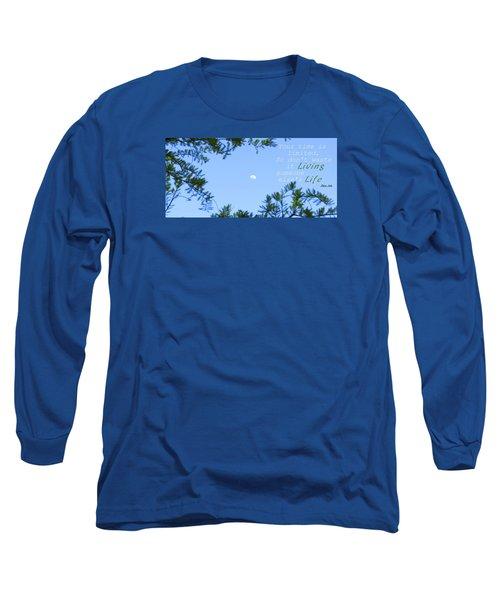 Maximize Long Sleeve T-Shirt by David Norman