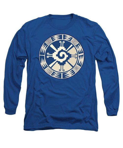 Mayan Hunab Ku Design Long Sleeve T-Shirt