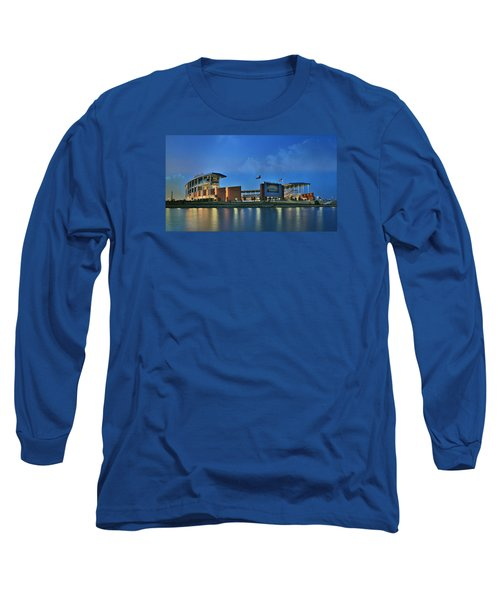 Mclane Stadium -- Baylor University Long Sleeve T-Shirt