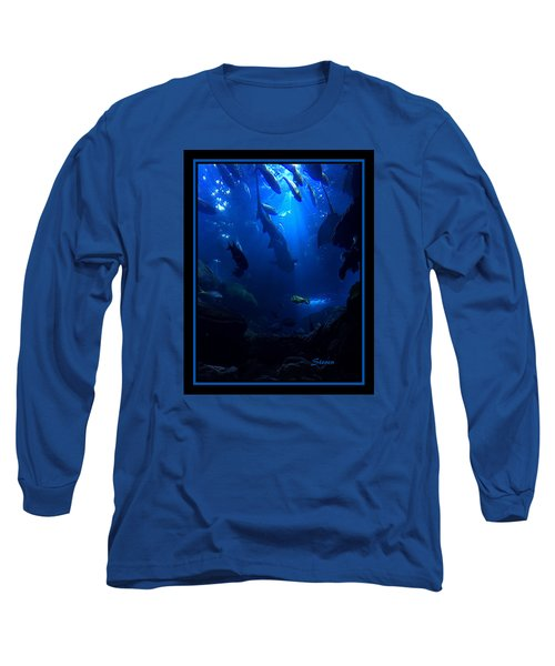 Long Sleeve T-Shirt featuring the photograph Me by Steven Lebron Langston