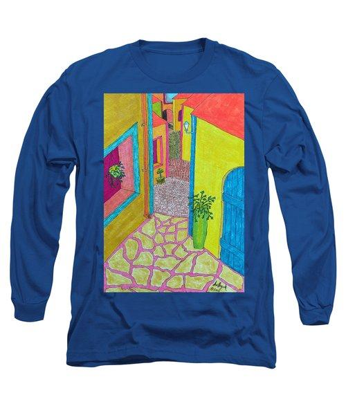 Med Town Long Sleeve T-Shirt
