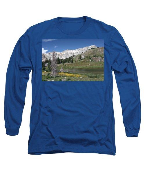 Medicine Bow Peak Long Sleeve T-Shirt