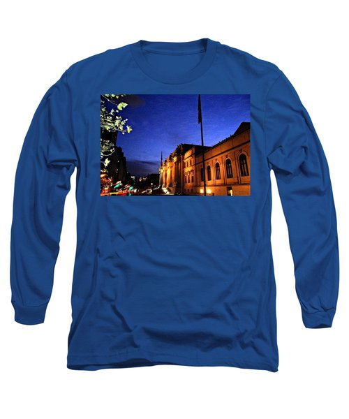 Metropolitan Museum Of Art Nyc Long Sleeve T-Shirt