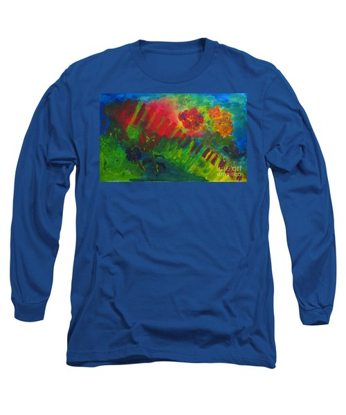Midcity Magic Long Sleeve T-Shirt by Sandy McIntire