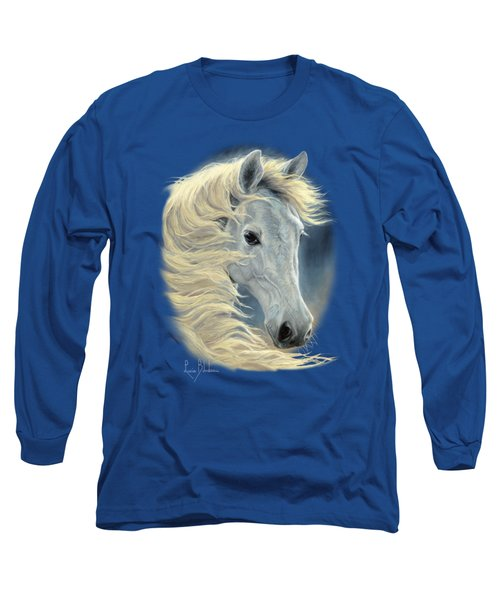 Midnight Glow Long Sleeve T-Shirt by Lucie Bilodeau