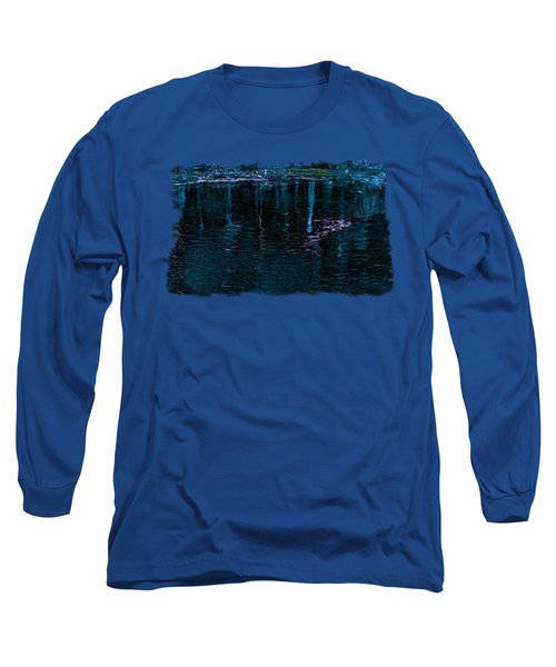 Midnight Spring Long Sleeve T-Shirt by John M Bailey