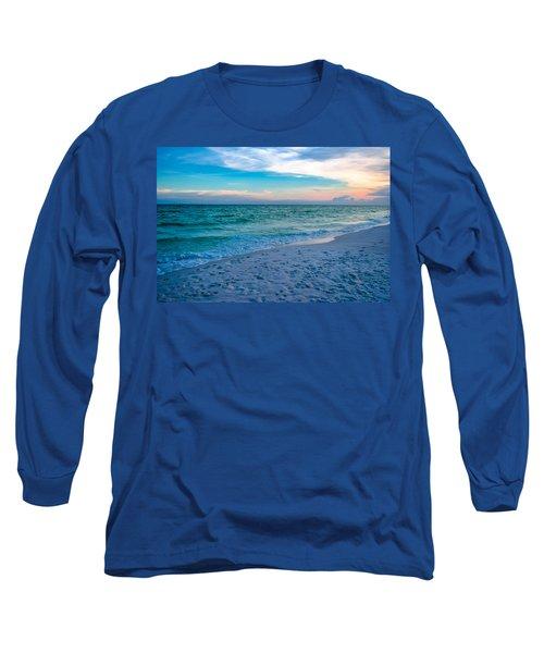 Miramar Blue  Long Sleeve T-Shirt
