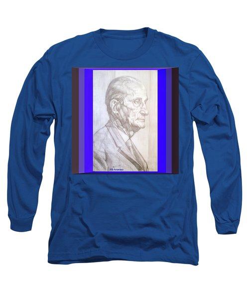 Model Framed Long Sleeve T-Shirt