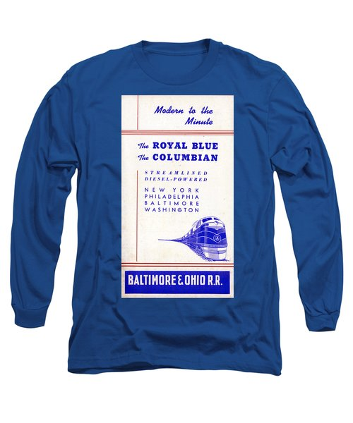Modern To The Minute Long Sleeve T-Shirt