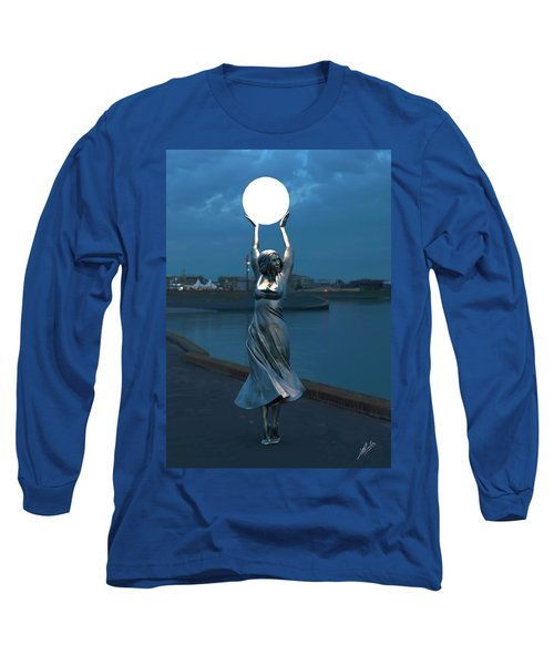 Modernist Streetlight 04 Long Sleeve T-Shirt