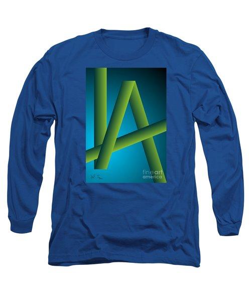 Long Sleeve T-Shirt featuring the digital art Modus by Leo Symon