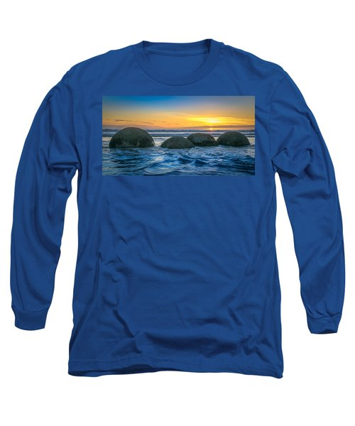Moeraki Sunrise Long Sleeve T-Shirt