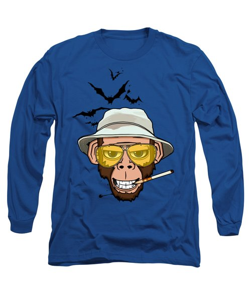 Monkey Business In Las Vegas Long Sleeve T-Shirt by Nicklas Gustafsson