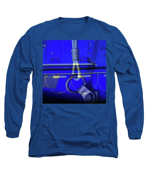 Long Sleeve T-Shirt featuring the photograph Mood Blue by Wayne Sherriff