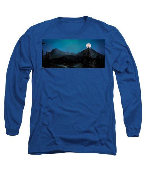 Moon Over Field Bc Long Sleeve T-Shirt