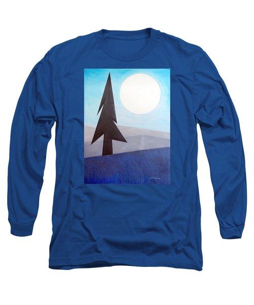 Moon Rings Long Sleeve T-Shirt by J R Seymour
