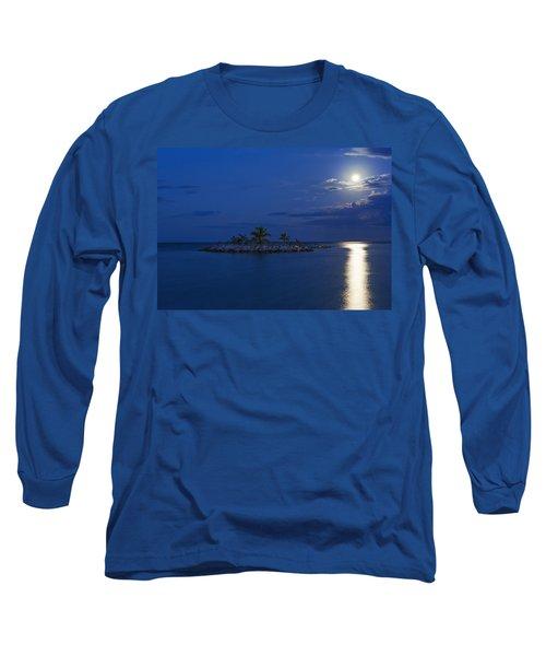 Moonlight Island Long Sleeve T-Shirt