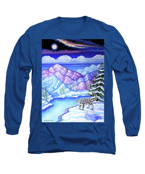 Moonlight Magic Long Sleeve T-Shirt by Tracy Dennison
