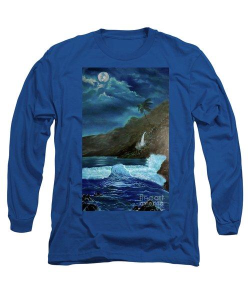 Moonlit Wave Long Sleeve T-Shirt