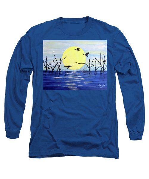 Morning Geese Long Sleeve T-Shirt