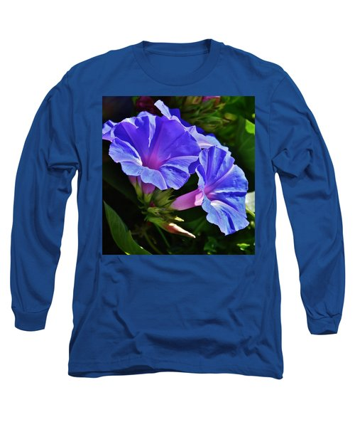 Morning Glory Flower Long Sleeve T-Shirt