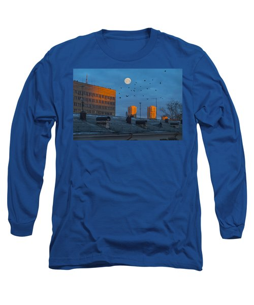 Long Sleeve T-Shirt featuring the photograph Morning Light by Vladimir Kholostykh
