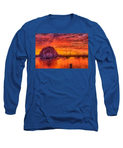 Morro Bay Marina Long Sleeve T-Shirt