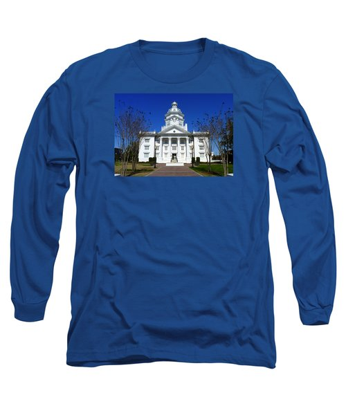 Moultrie Courthouse Long Sleeve T-Shirt by Carla Parris