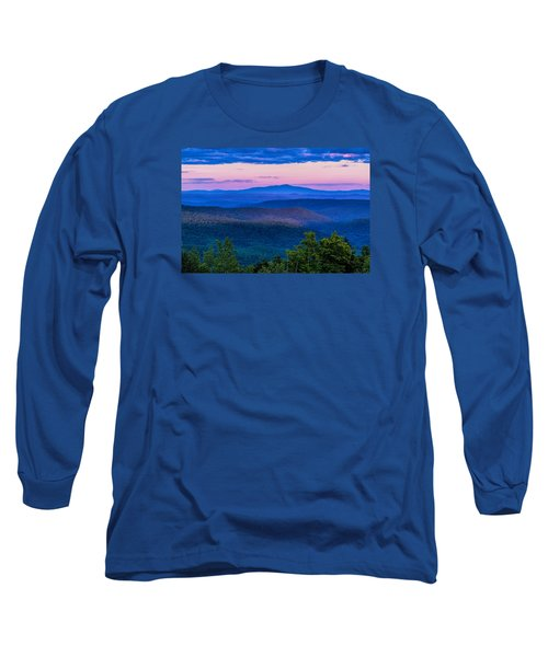 Long Sleeve T-Shirt featuring the photograph Mount Monadnock From Vermont by Tom Singleton