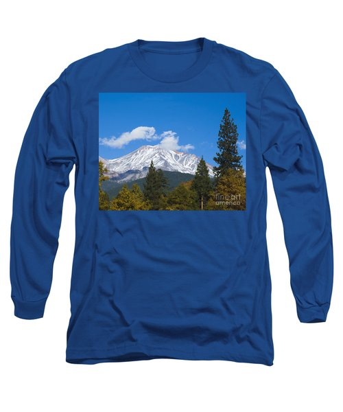 Mount Shasta California Long Sleeve T-Shirt