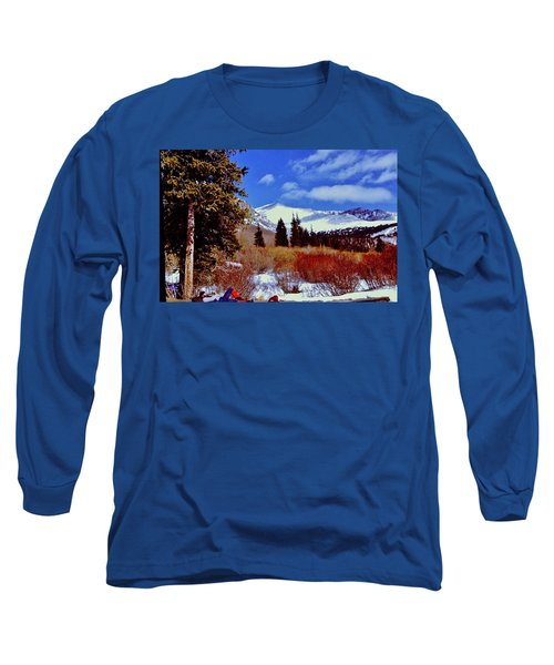 Mount St Vrain  Long Sleeve T-Shirt