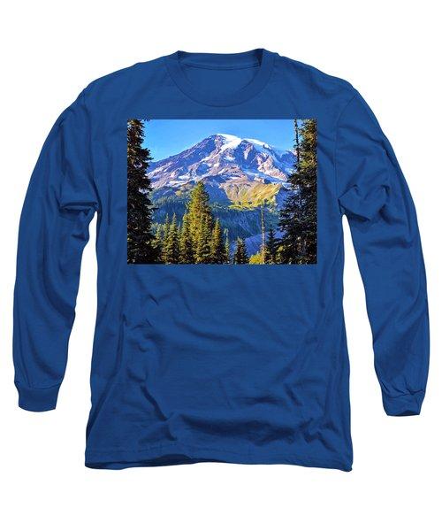 Mountain Meets Sky Long Sleeve T-Shirt
