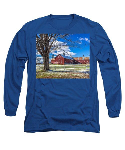 Mountain View Barn Long Sleeve T-Shirt