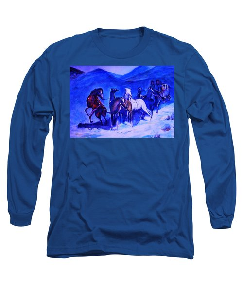 Move Over. Long Sleeve T-Shirt by Khalid Saeed