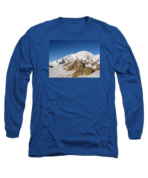 Mt Denali - Mount Mckinley Alaska Long Sleeve T-Shirt