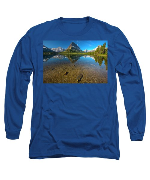 Mt. Grinnell Long Sleeve T-Shirt