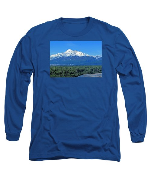 Denali, Aka Mt. Mckinley  Long Sleeve T-Shirt