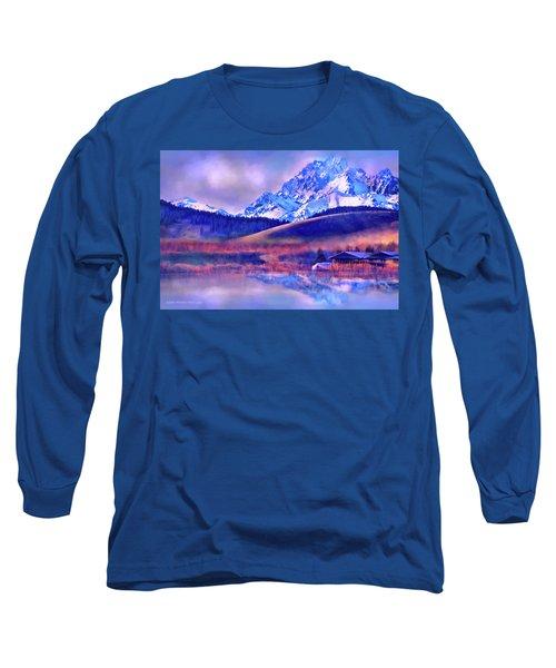 Mt. Stuart Long Sleeve T-Shirt by Kari Nanstad
