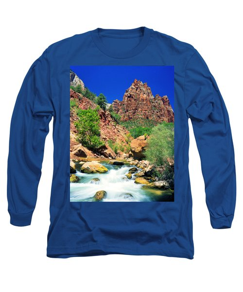 Mt.moroni / Virgin River Long Sleeve T-Shirt