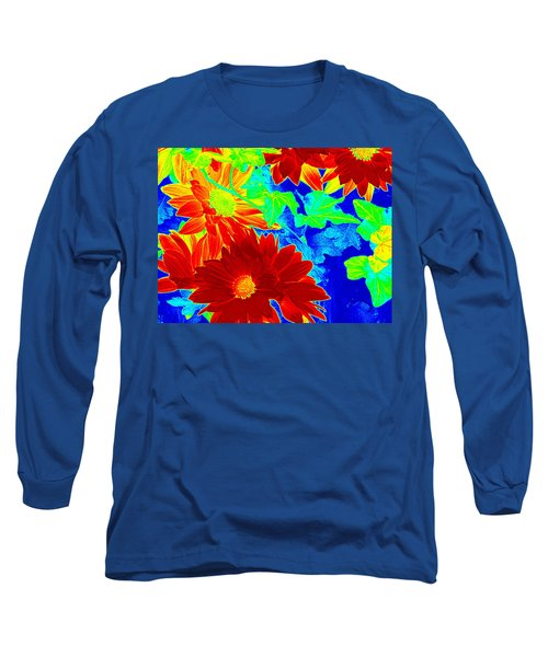 Mums In My Coloring Book Long Sleeve T-Shirt