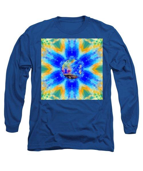 Long Sleeve T-Shirt featuring the digital art Mystic Universe 13 Kk2 by Derek Gedney
