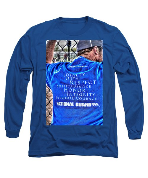 National Guard Shirt 21 Long Sleeve T-Shirt