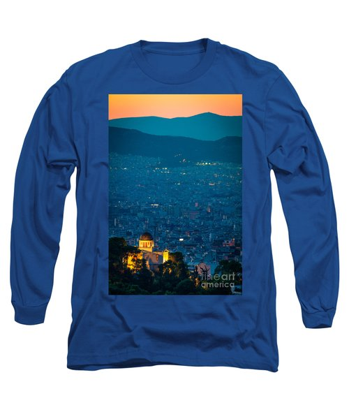National Observatory Of Athens Long Sleeve T-Shirt