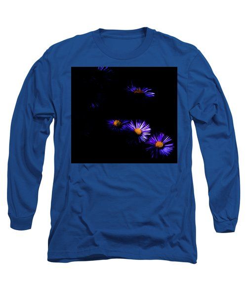 Long Sleeve T-Shirt featuring the digital art Natural Fireworks by Timothy Hack