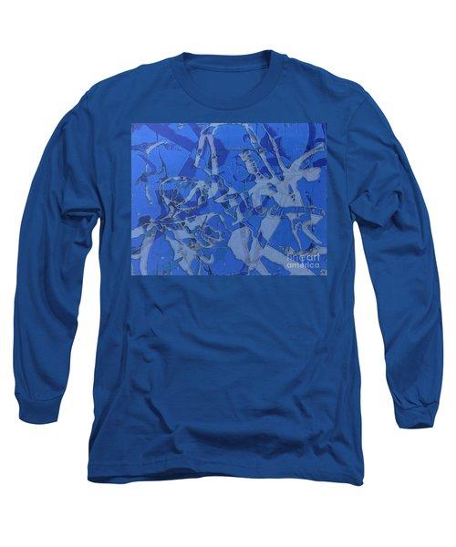 Negative Photo Silkscreen Long Sleeve T-Shirt