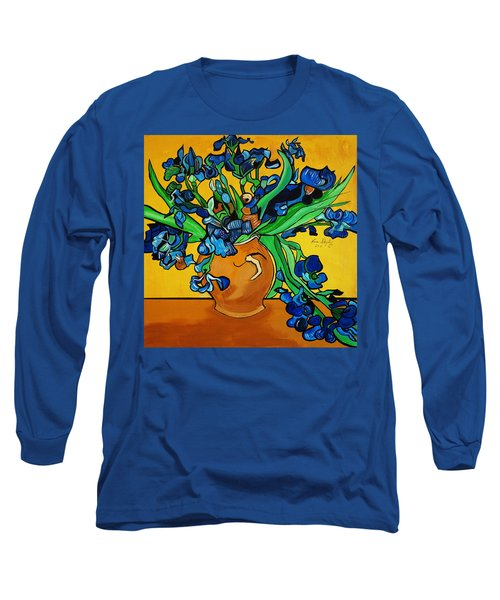 New Blue By You Long Sleeve T-Shirt by Nora Shepley