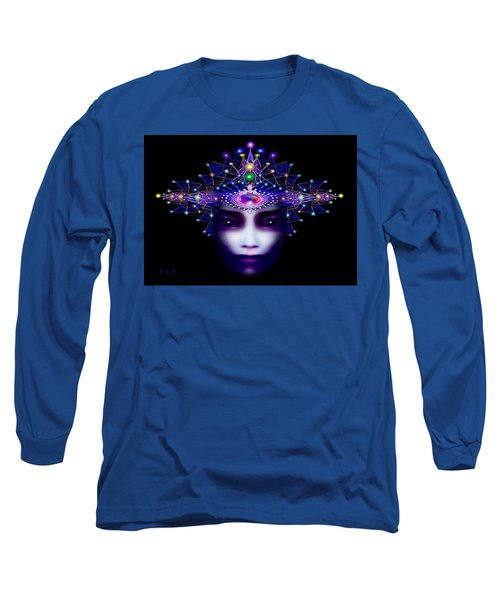 Celestial  Beauty Long Sleeve T-Shirt by Hartmut Jager