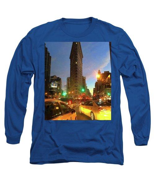 New York City Life Long Sleeve T-Shirt