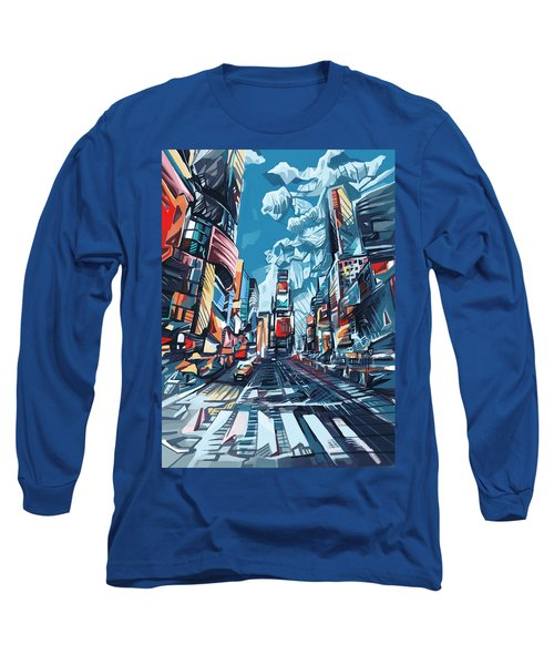 New York City-times Square Long Sleeve T-Shirt